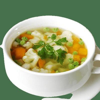 """Суп овощной <p style=""""color:#FF0000"""">300 г.</p>"""
