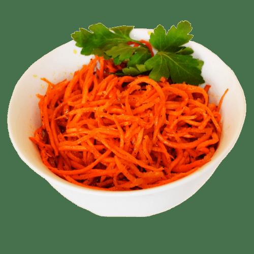 """Салат Морковь по-корейски <p style=""""color:#FF0000"""">150 гр.</p>"""
