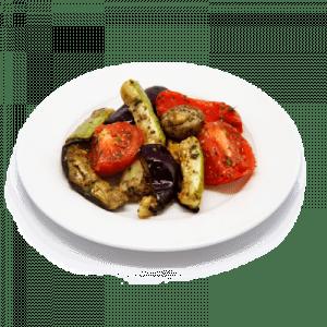 "Салат Овощи запеченные <p style=""color:#FF0000"">150 гр.</p>"